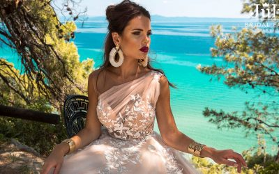 Wedding dresses 2019 collection Lagonissi shoot in Greece